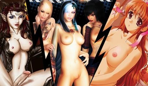 3D Pornobilder und Pornoanimationen von XXX Spiele
