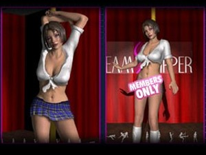 3D Virtual Strippers - XXX Poltanzfrauen