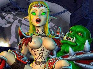 BoneCraft - Elf Porno in XXX Fantasie Spiel